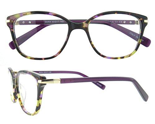 OCCI CHIARI Eyewear Frames Fashion Optical Acetate Eyeglasses With Clear Lenses