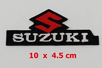 Applikation Aufbugler Patches Stick Emblem Aufnaher Abzeichen QuotSUZUKIquot Logos F1 Moto GP