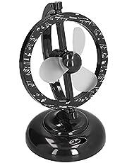USB Desk Fan, Desktop Table Cooling Fan Mini 90 Degree Free Rotation Head Rotation Strong Wind Personal Fan Strong Wind Cooling Equipment for Home Desk Office