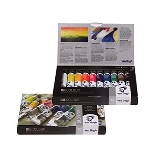 ArtVerse Royal Talens Van Gogh Oil Set-Asst Colors-20 ml-10...