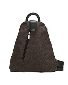 Baggallini Urban Backpack, Espresso Cheetah, One Size