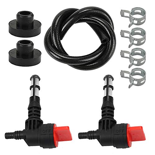 Wellsking 192980GS Fuel Shut Off Valve Service Kit for Briggs and Stratton 78299GS 80270GS Craftsman Snapper Troy-Bilt Generac Portable Generator