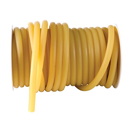 Duro-Med Latex Tubing 50 Foot Reels, 5/16 Inner Diameter, 1/16 Wall Thickness, Stethoscope Size, Amber by Duro-Med (Image #1)