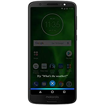 Moto G6 – 32 GB – Unlocked (AT&T/Sprint/T-Mobile/Verizon) – Black - Prime Exclusive Phone
