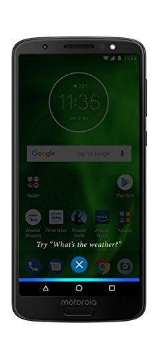 Moto G6 – 32 GB – Unlocked (AT&T/Sprint/T-Mobile/Verizon) – Black - Prime Exclusive (Motorola Telephone)