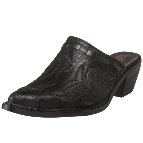 Roper 09-021-1555-0303 Bl Ladies Faux Leather Mule Black Size: 4 UKMGP7