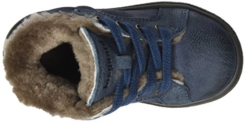 Bisgaard Unisex-Kinder Lauflerner Stiefel Blau (602 Blue)