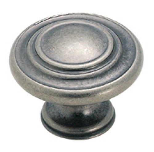 Sonoma Cabinet Hardware Nantucket Knob Antique Pewter 20 Knob Pack NEW Kitchen Custom Solid Knob ()