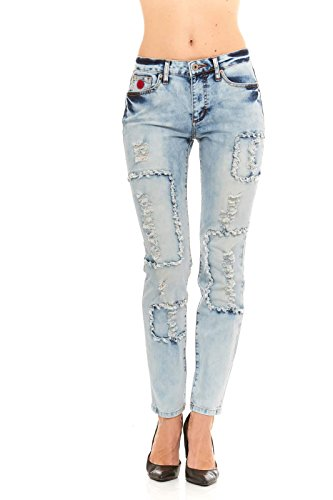 red-jeans-womens-destroyed-ripped-biker-slim-blue-denim-jeans