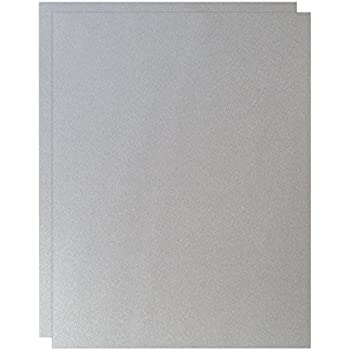 Fav shimmer pure silver 8 5 x 11 card stock paper 92lb cover 250gsm