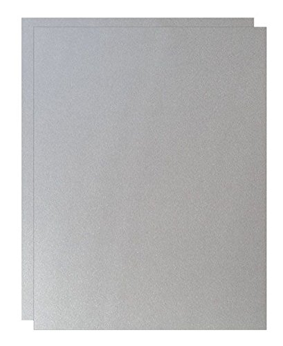 Shimmer Pure Silver Digital 12-x-18 Lightweight Multi-use Paper 200-pk - 118 GSM (32/80lb Text) PaperPapers Large size Everyday Paper - Professionals, Designers, Crafters and DIY Projects paper-papers