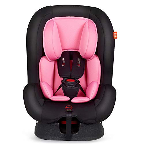 WDXIN Child Car Seat and Booster Seat Fabric Thickened Head Protection Sitting Reclining Two-Way Installation 0-6 Years Old Baby Available,C