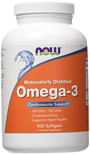 NOW Foods Omega-3, 500 Softgels
