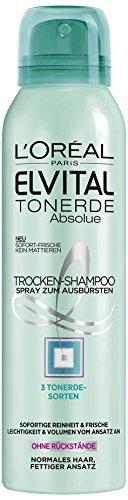 L'Oréal Paris Elvital Tonerde Trockenshampoo, 2er Pack (2 x 150 ml)