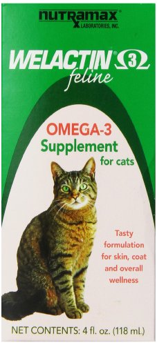 41ga8oYLFHL - Welactin Feline Liquid, 4-Ounce