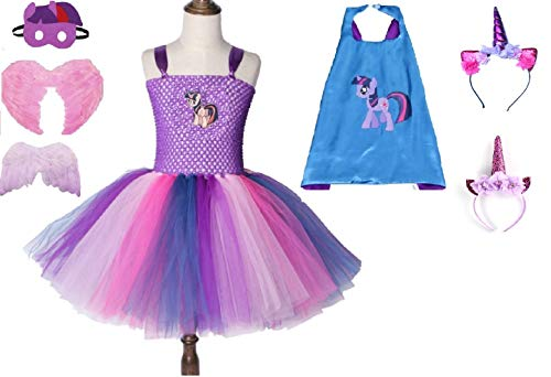Sparkling Twilight Costume Tutu Dress from Chunks of Charm (4T Dress) -