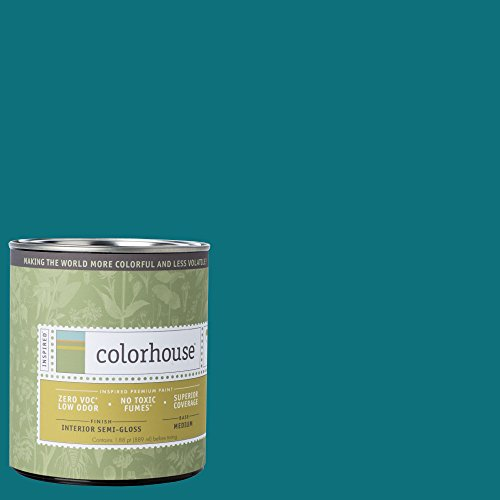 Inspired Semi-Gloss Interior Paint, Dream .06, Quart (Semi Gloss Trim)