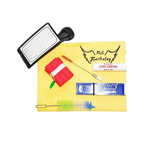 Clarinet Players Mega Pack - Essential Accessory Pack for the Clarinet: Includes: Clarinet Care & Cleaning Kit, Clarinet Reed Pack w/Reed Holder, Music Stand, Band Folder, Standard of Excellence Book 1 for Clarinet, & Tuner & Metronome by Clarinet Accessory Pack (Image #1)