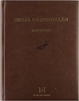 66b3bc4e3af Biblia de Jerusalén   gran edición ilustrada  Escuela Bíblica Arqueológica  de Jerusalén  9788433023261  Amazon.com  Books