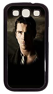 Creative Batman Christian Bale Custom Samsung Galaxy S3 I9300 Case Cover Polycarbonate Black