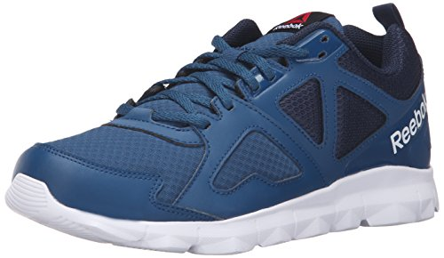 Reebok Men's Dashhex TR L MT Cross-Trainer Shoe, Noble Blue/Collegiate Navy/Black/White, 10.5 M US