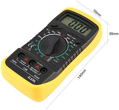 xiongdijingdiao XL830L Backlight LCD Multimeter Voltmeter Ammeter AC DC Diode Resistence