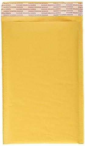 Kraft Self Seal Bubble Mailer Padded Envelopes, #0, 6.5