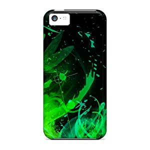 New Fashionable Jasoates HzyiDjF4429HPOMb Cover Case Specially Made For Iphone 5c(green03)