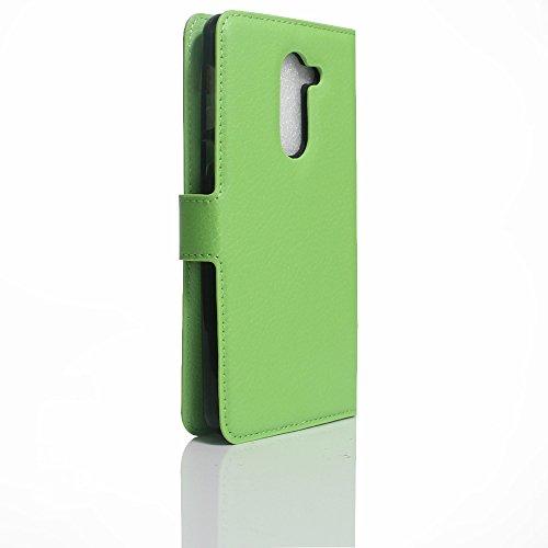 Manyip Funda Huawei Mate 9 lite,Caja del teléfono del cuero,Protector de Pantalla de Slim Case Estilo Billetera con Ranuras para Tarjetas, Soporte Plegable, Cierre Magnético(JFC5-12) F