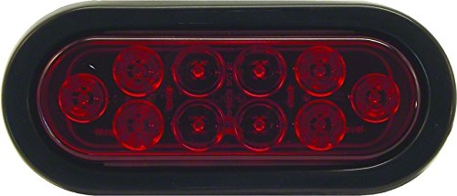 Invincible Marine LED Oval Tail Light for Trailers by Invincible Marine