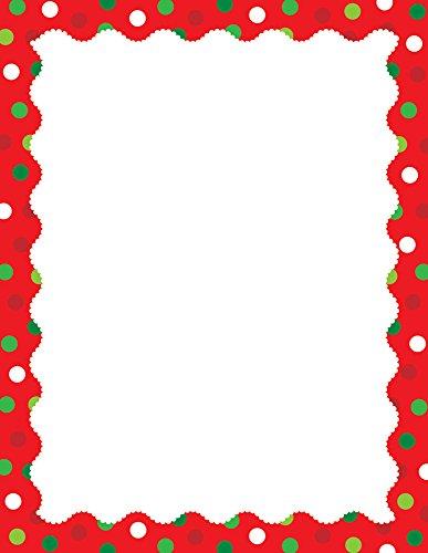 Creative Teaching Press Holiday Dots Computer Paper (Holiday Computer Paper)