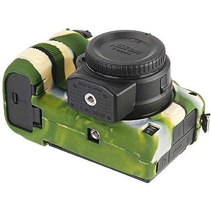 First2savvv Negro Cuerpo Completo Caucho de TPU Funda Estuche Silicona para c/ámara para Nikon Z7 Z6 XJP-Z7-GJ-M01G11