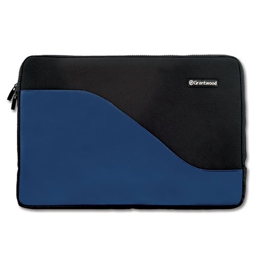 """SimpleSleeve, Premium Protective Neoprene Sleeve for ALL Apple MacBook Pro 15 inch, Including NEW 15"""" Retina Display & Touch Bar models, Black/Blue"""