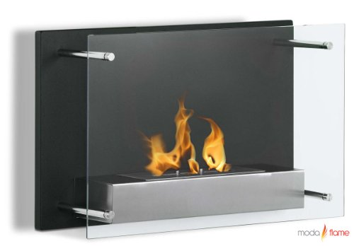 Best Buy! Moda Flame Epila Wall Mounted Ethanol Fireplace