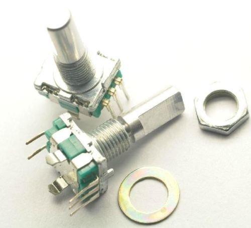10PCS Rotary encoder with switch EC11 Audio digital potentiometer handle 20mm