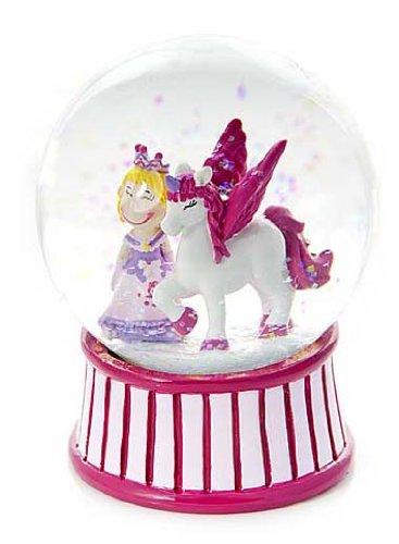 Boule /à neige enfants princesse et licorne pour les filles