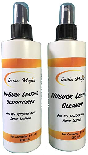 Nubuck/Suede Leather Cleaning and Conditioning Combo kit