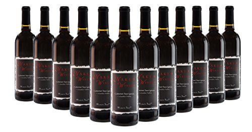 Cabernet Sauvignon Wine Columbia Valley Washington Case, 12 x 750 mL, by Naked Winery