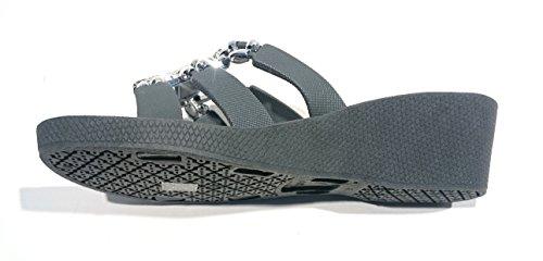 Ciabatte Inca Da Scarpa Pantofole Spiaggia Linea Grigio Donna taEwUqn5