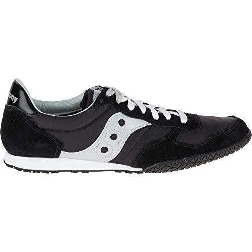 Saucony Originals Men's Bullet Classic Sneaker,Black/Grey,9.5 M US