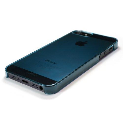 BoxWave iPhone 5s/5Crystal Shell–schmalem Ultra Leicht Transparent Polycarbonat klar Hard Shell Case für iPhone 5S/5–Apple Iphone 5S/5Fällen und Abdeckungen (blau)