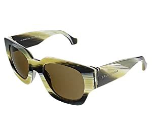Sunglasses Balenciaga BA 11 BA0011 64J coloured horn / roviex