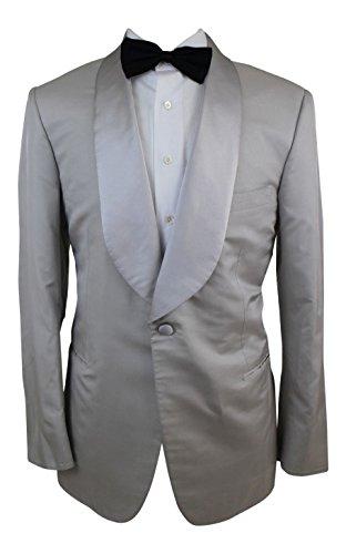 brioni 100% Silk Sport Coat Smoking Jacket Blazer (Brioni Jacket)
