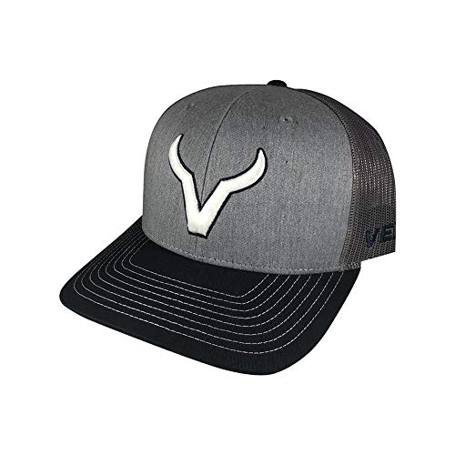 Vexil Icon Heather Gray and Navy Adjustable Snapback Hat (Icon Hat)