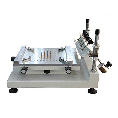 Wotefusi Silkscreen Print Machine Manual High Precision Screen Printer Solder Cream