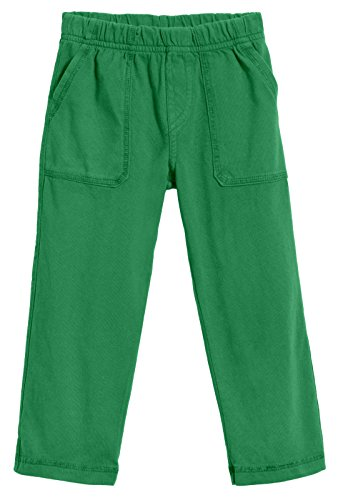 City Threads Big Boys' and Girls' Soft Jersey Tonal Stitch Pant Perfect for Sensitive Skin SPD Sensory Friendly Clothing - Elf Green -