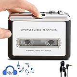 Retround Cassette Player portable Walkman Cassette Tape Player Tape Converter to MP3/WAV/CD via
