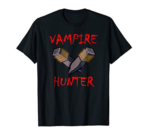 Vampire Hunter Shirt-Cool Halloween Costume T Shirt -