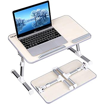 Amazon Com Gladle Foldable Laptop Table Stand For Bed
