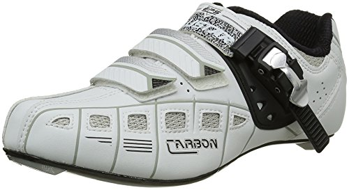 White 71035 Shoes Road Exustar Black Silver Cycling 18fdqwttxI